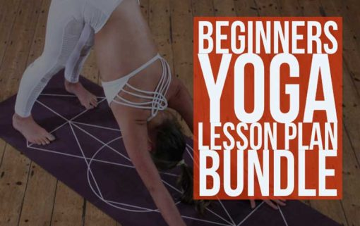 Beginners Yoga Lesson Plan Bundle