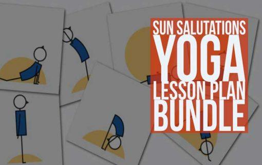 Sun Salutations Yoga Lesson Plan Bundle