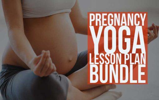 Pregnancy Yoga Lesson Plan Bundle