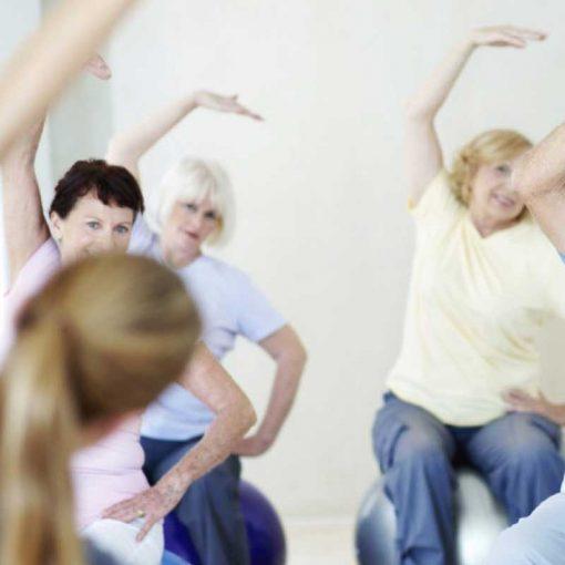 chair yoga lesson plan bundle II