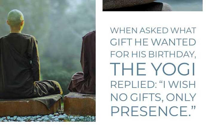 Yoga Quote: Presence
