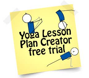 yoga lesson plan creator