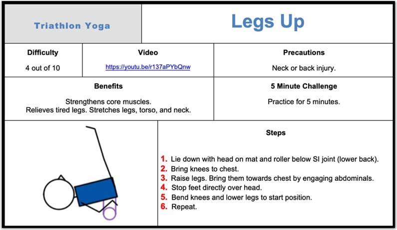 Legs Up Pose