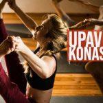 Upavishta Konasana B Yoga Card