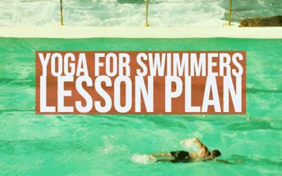 Free Downloadable Yoga for Swimming Lesson Plan (hips)