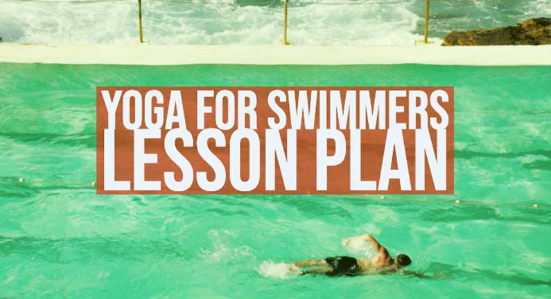 Yoga For Swimming Lesson Plan: Free Download