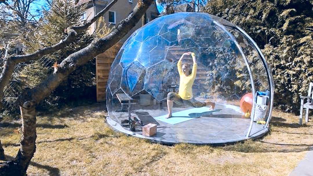 Yoga Garden Studio Dome: Stunning HypeDome
