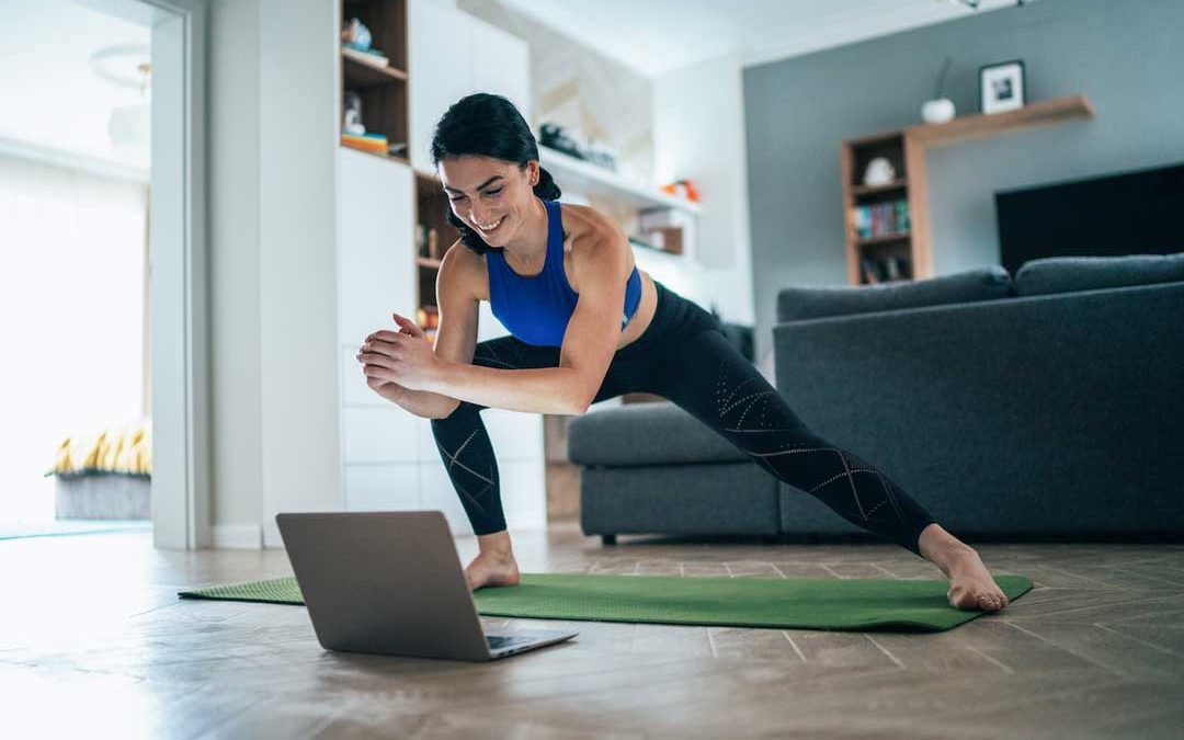 how to set up a zoom yoga class